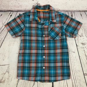 Boys French Toast Button Down Shirt
